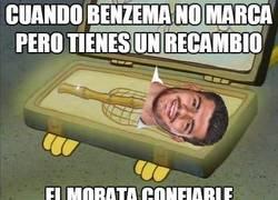Enlace a Morata siempre al rescate