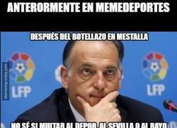 Enlace a Sobre sanciones en el fútbol español...