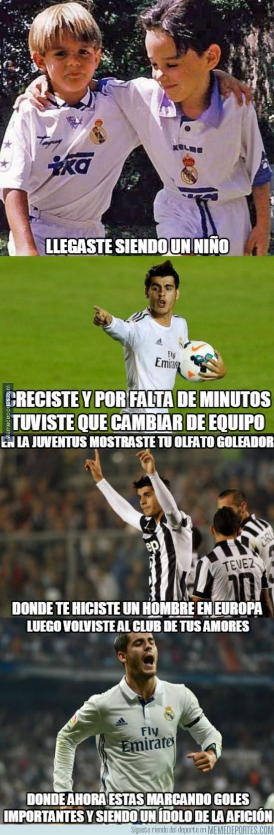 920663 - Morata, el nuevo ídolo del Real Madrid