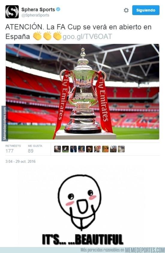 920819 - Esta sí que es una buena sorpresa para los amantes del fútbol inglés