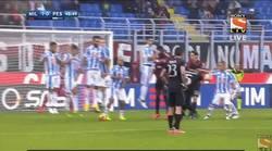 Enlace a GIF: Así fue el golazo de Bonaventura a lo Ronaldinho que le dio la victoria al Milan