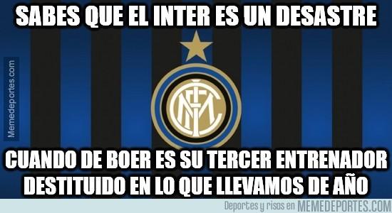 921235 - Al Inter le han echado un mal de ojo