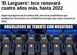 Enlace a Isco renovará cuatro años más por el Real Madrid
