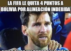 Enlace a Ahora mismo, Argentina está fuera del próximo Mundial