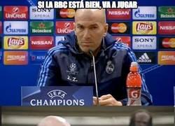 Enlace a Zidane erre que erre