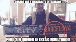 Enlace a Fail total de este aficionado del City...