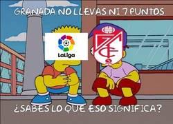 Enlace a Granada y su situación en liga