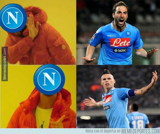 921500 - Los del Napoli lo tienen bien claro este año