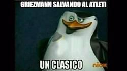 Enlace a Griezmann salvando al Atleti