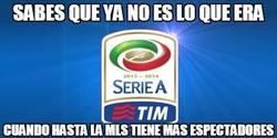 Enlace a La MLS, ¡más seguida que la Serie A!