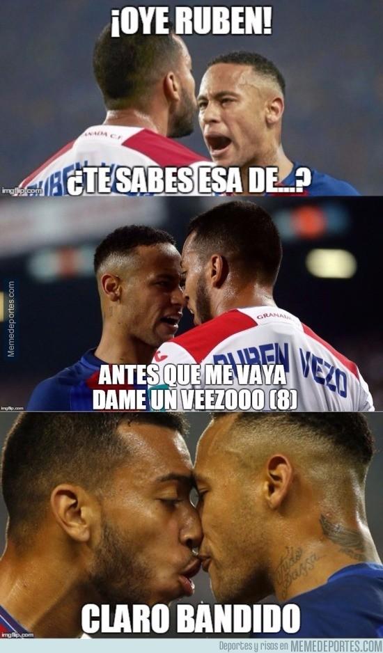 921644 - Días después sale a la luz la amistosa conversación entre Vezo y Neymar
