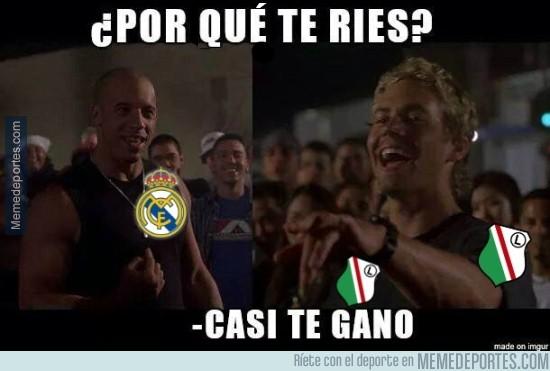 921788 - El Legia tras el partido contra el Real Madrid