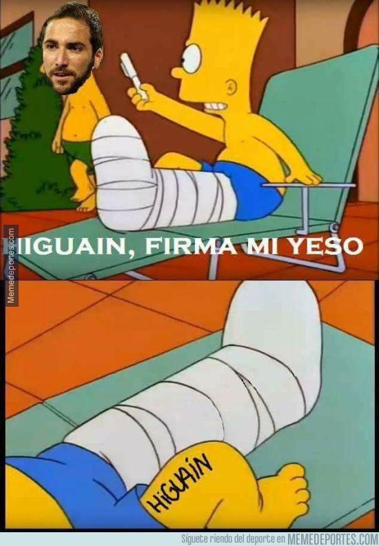 921963 - Higuaín lo volvió a hacer