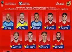 Enlace a OFICIAL | Lista de la @SeFutbol para los partidos contra Macedonia y @England