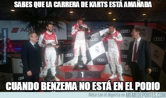 922235 - La carrera de karts del Real Madrid está amañada