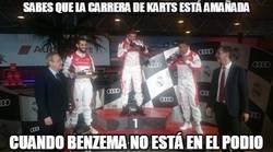 Enlace a La carrera de karts del Real Madrid está amañada