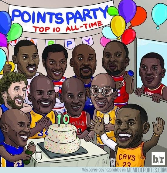 922521 - LeBron James entra en la lista de los 10 máximos anotadores de la NBA
