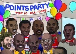 Enlace a LeBron James entra en la lista de los 10 máximos anotadores de la NBA