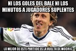 Enlace a El fútbol sonríe con la vuelta de Modric