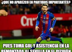 Enlace a Messi siendo Messi