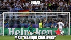 Enlace a Oblak y su maniquí challenge