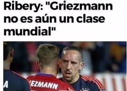 Enlace a Ribery se tiene que comer sus palabras tras la nominación de Griezmann