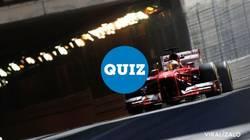Enlace a QUIZ: ¿Cómo eres de fan de la F1?
