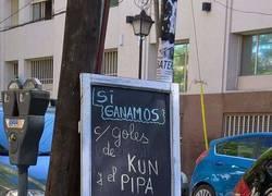 Enlace a Este bar argentino tiraba la casa por la ventana si Argentina ganaba con esta condición