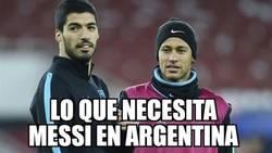 Enlace a Lo que necesita Messi en Argentina