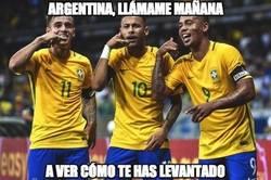 Enlace a Brasil preocupado por Argentina