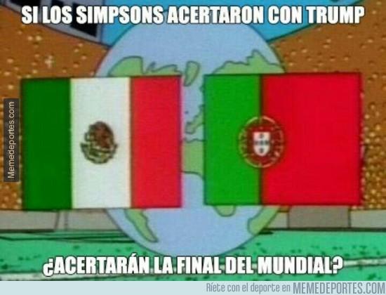 923803 - Los Simpson han acertado con Trump y también han predicho que esta será la final del próximo mundial
