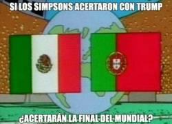 Enlace a Los Simpson han acertado con Trump y también han predicho que esta será la final del próximo mundial