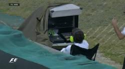 Enlace a Alonso haciendo de cámara en Brasil
