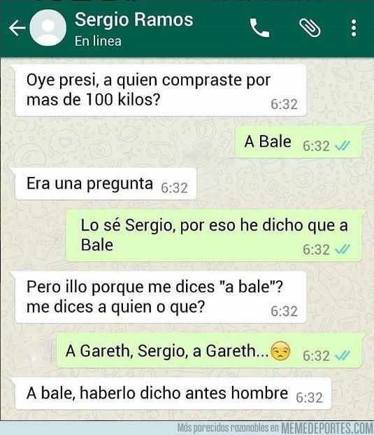 924097 - La conversación entre Sergio Ramos y Florentino en Whatsapp