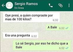 Enlace a La conversación entre Sergio Ramos y Florentino en Whatsapp