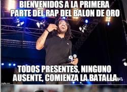 Enlace a El rap del Balón de Oro