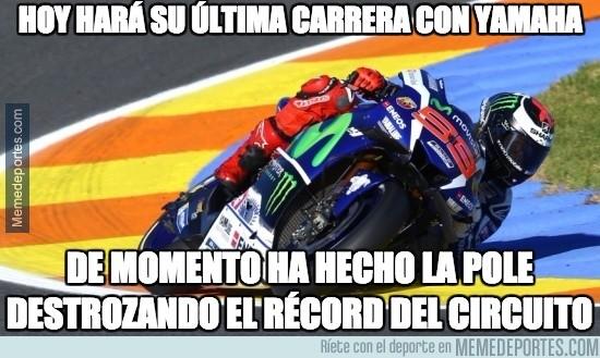 924246 - Increíble el nivel de Loenzo en su último gran premio como piloto Yamaha