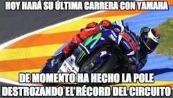 Enlace a Increíble el nivel de Loenzo en su último gran premio como piloto Yamaha
