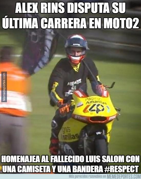 924347 - Enormísimo gesto de Alex Rins en Moto2 ¡BRAVO!