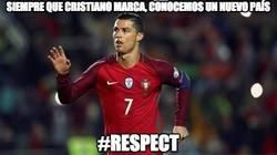 Enlace a Cristiano Ronaldo, el mejor profesor de geografía