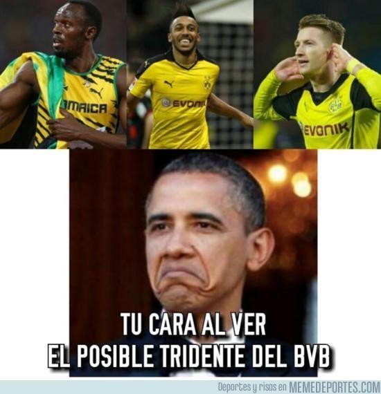 924626 - Usain Bolt se entrena con el Borussia Dortmund