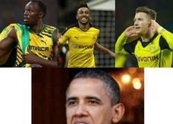 Enlace a Usain Bolt se entrena con el Borussia Dortmund
