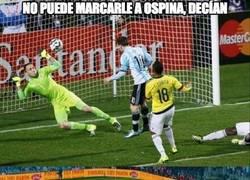 Enlace a ¿Que Messi no puede marcarle a Ospina?
