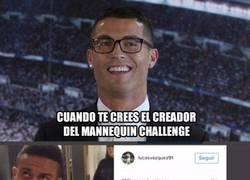 Enlace a Cristiano se burla del MannequinChallenge de España