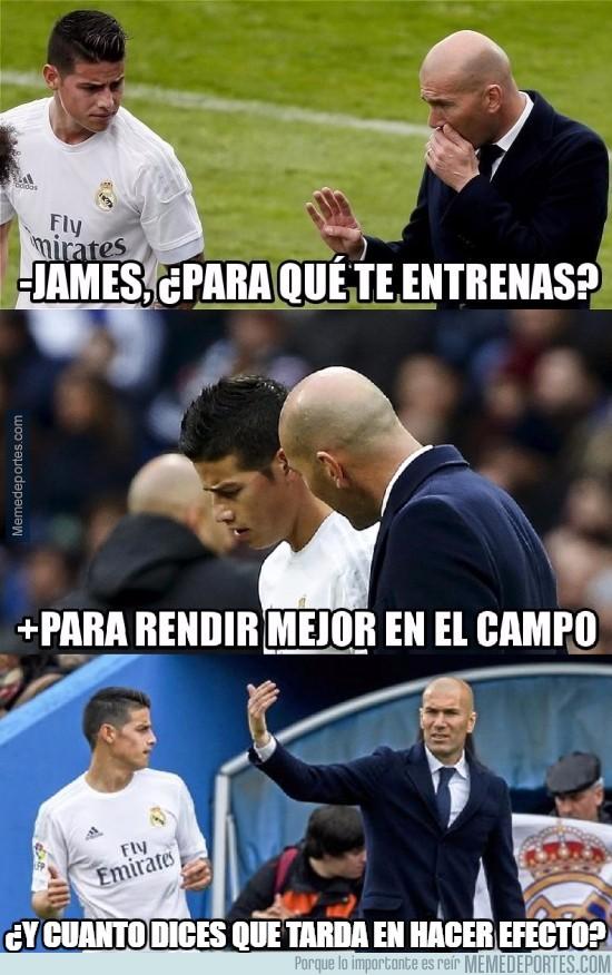925120 - Zidane se la tiene jurada a James
