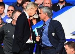 Enlace a El primer dardo en forma de declaraciones de Mourinho a Wenger antes de su partido
