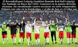 Enlace a Gran temporada la que está teniendo el Leipzig