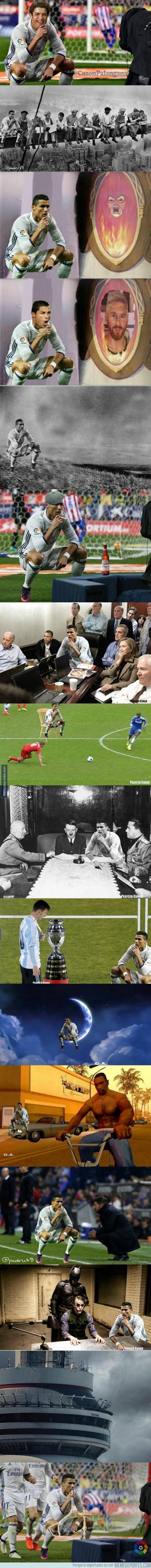 926279 - Recopilación de chops de la celebración de Cristiano Ronaldo (Parte 2)