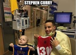 Enlace a Stephen Curry es un grande