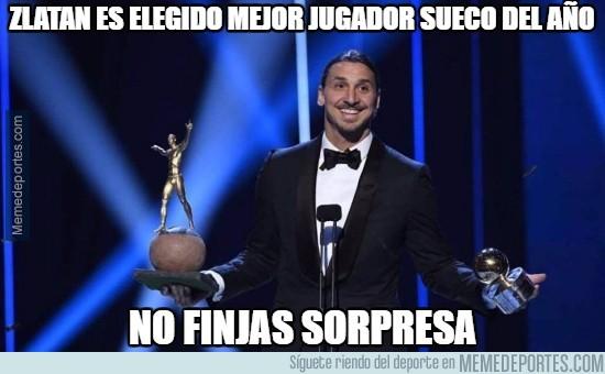 926416 - Zlatan elegido mejor jugador sueco del año